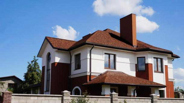 Сучасний будинок Грабник, Новобудова.